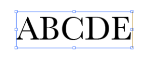 1 new font type text
